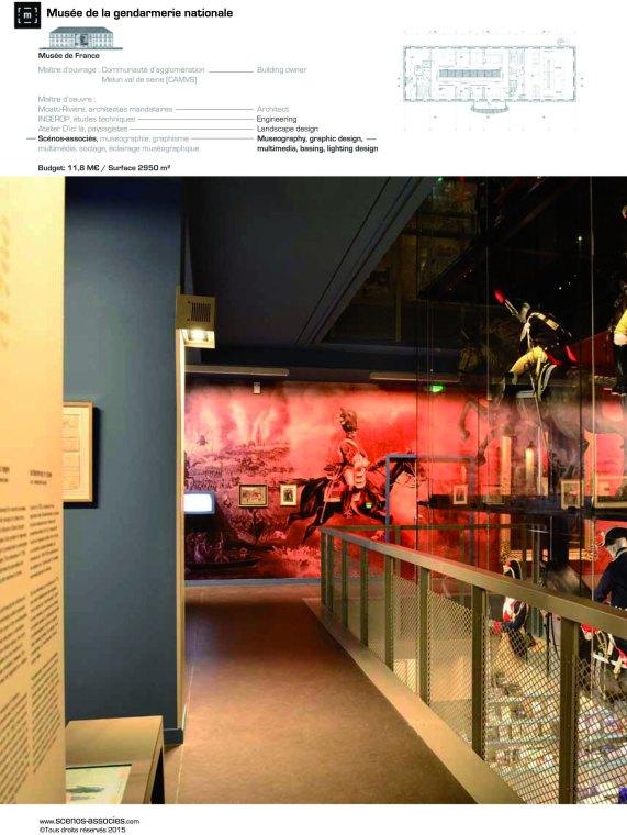 SCENOS ASSOCIES Musée de la Gendarmerie 2016 BD-1 copie